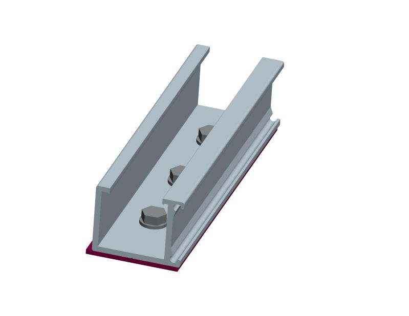 Roof attachments for metal sheet roof mounting system, trapezoidal metal roof solar racking system suppliers