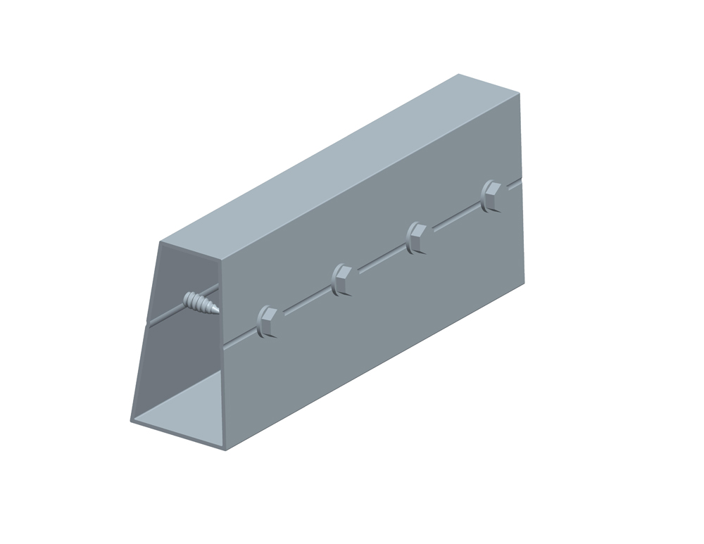 rail connector for Carport solar mounting system
