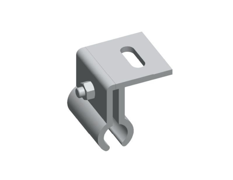 Kalzip Roof Clamp, Kalzip® clamp for standing seam roof mounting system
