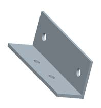 angle steel for pole mounting system