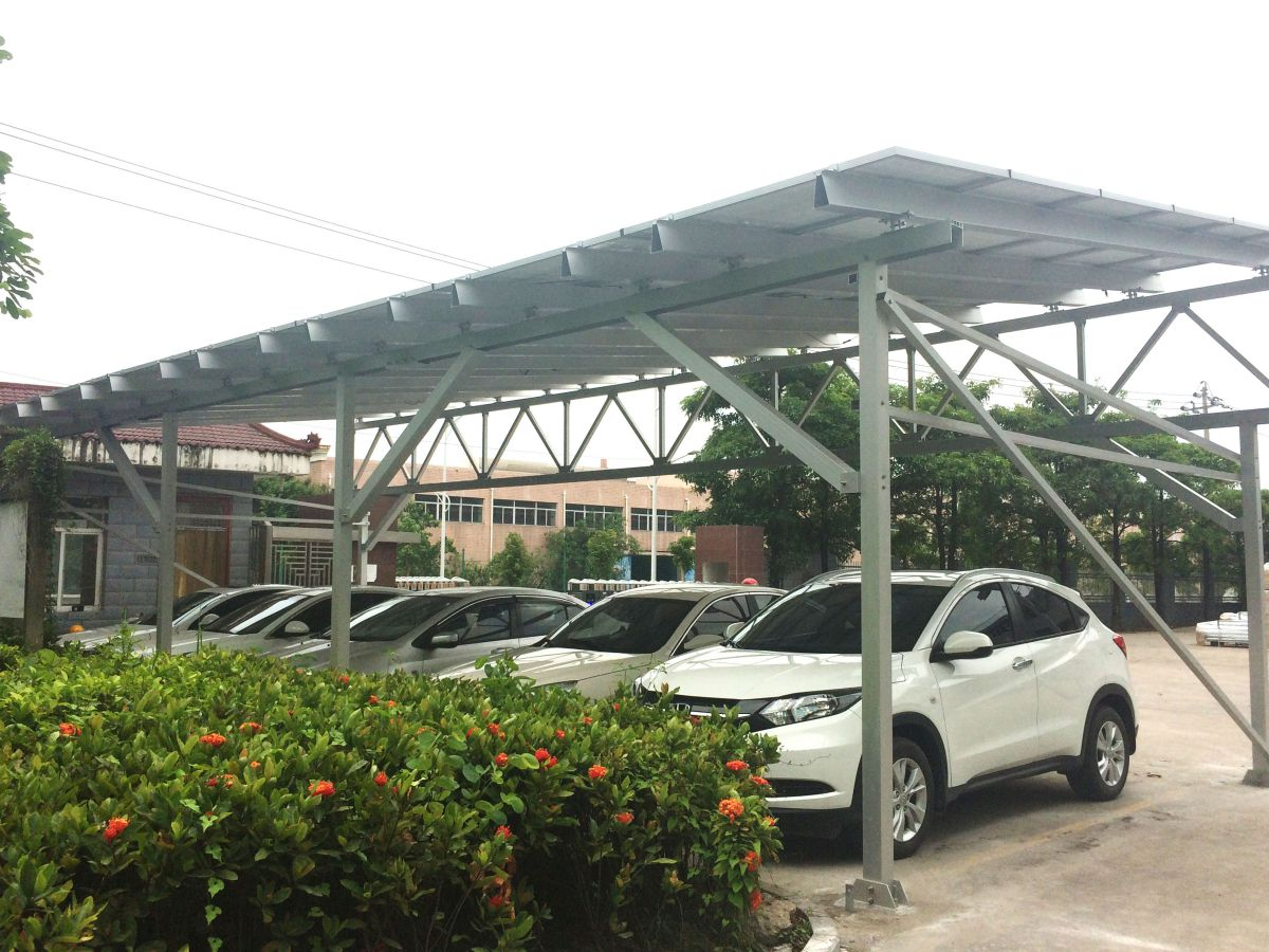 Solar Carport Appears Inside Antaisolar Factory