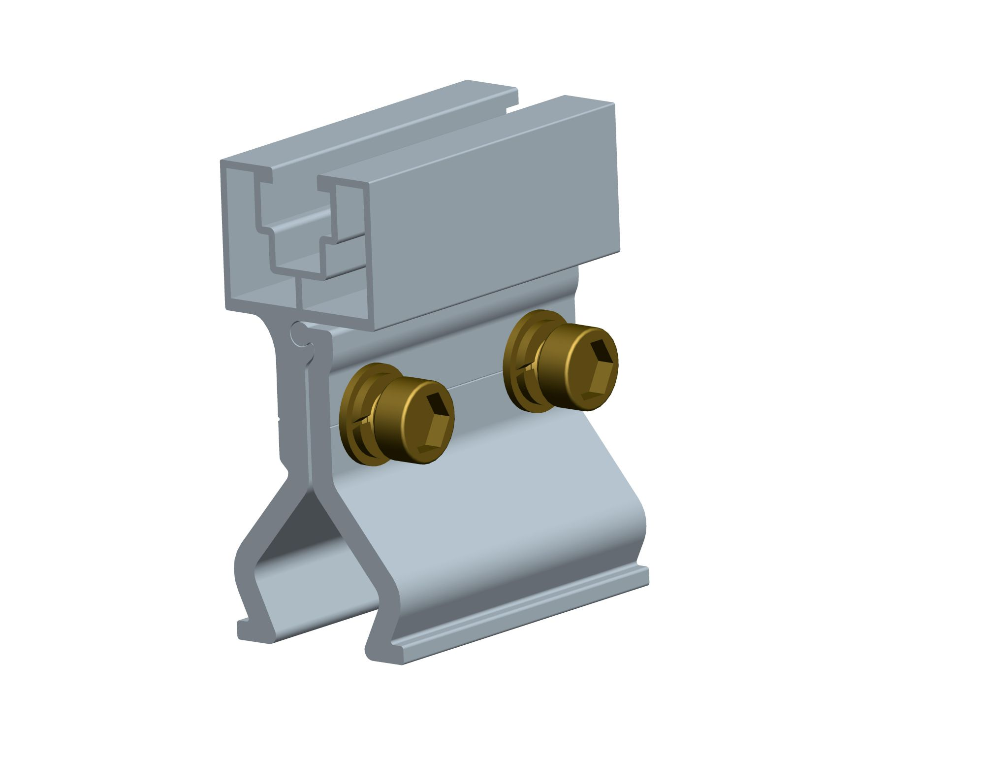 Antaisolar standing seam roof clamps