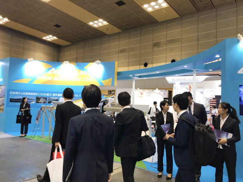 Antaisolar at the PV expo osaka