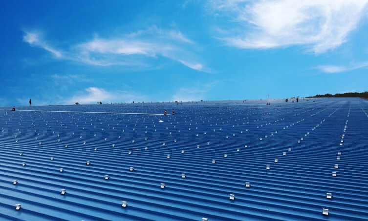 Antaisolar secured several big rooftop solar racking order in 2018