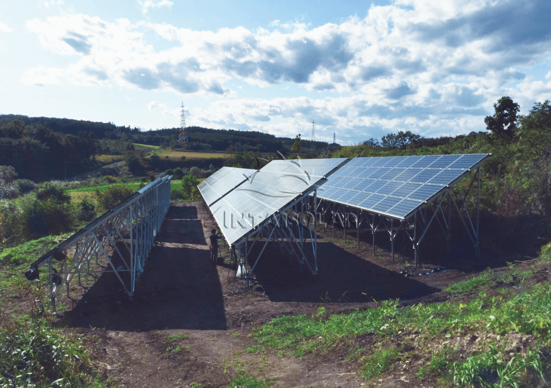 Several ground solar projects designed and provided by Antaisolar
